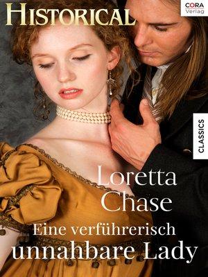 cover image of Eine verführerisch unnahbare Lady