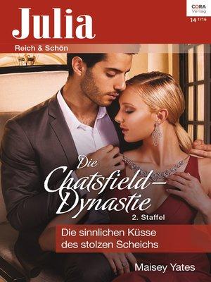 cover image of Die sinnlichen Küsse des stolzen Scheichs
