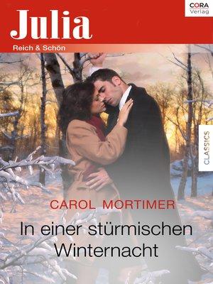 cover image of In einer stürmischen Winternacht