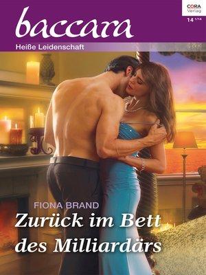 cover image of Zurück im Bett des Milliardärs