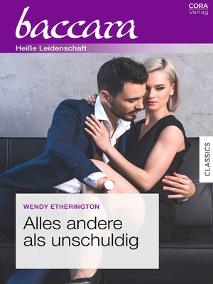 cover image of Alles andere als unschuldig