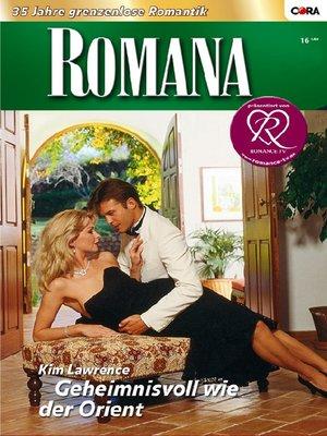 cover image of Geheimnisvoll wie der Orient