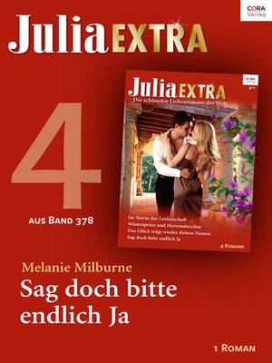 cover image of Julia Extra Band 378—Teil 4