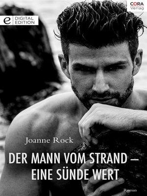 cover image of Der Mann vom Strand--eine Sünde wert