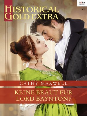 cover image of Keine Braut für Lord Baynton?