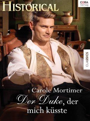 cover image of Der Duke, der mich küsste