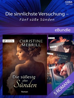 cover image of Die sinnlichste Versuchung--Fünf süße Sünden