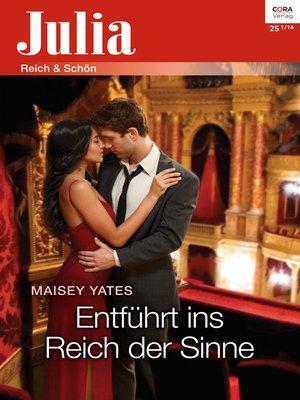 cover image of Entführt ins Reich der Sinne