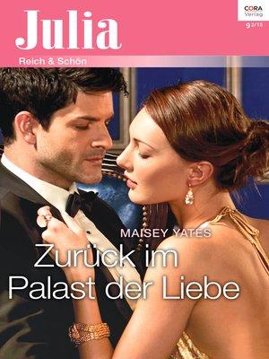 cover image of Zurück im Palast der Liebe