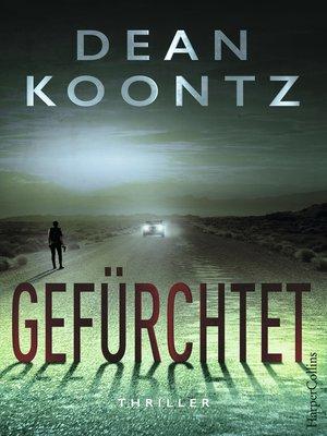 cover image of Gefürchtet