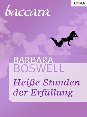 cover image of Heiße Stunden der Erfüllung