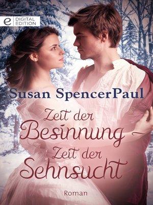 cover image of Zeit der Besinnung--Zeit der Sehnsucht