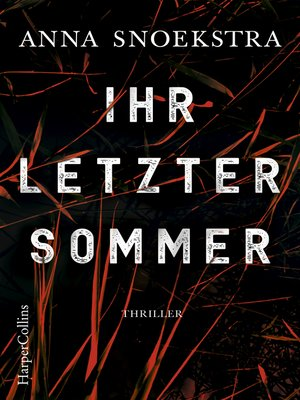 cover image of Ihr letzter Sommer
