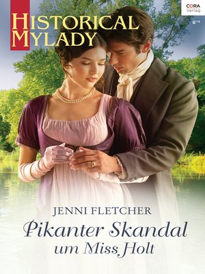 cover image of Pikanter Skandal um Miss Holt