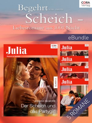 cover image of Begehrt von einem Scheich--Liebesromane aus 1001 Nacht