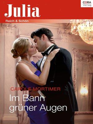 cover image of Im Bann grüner Augen