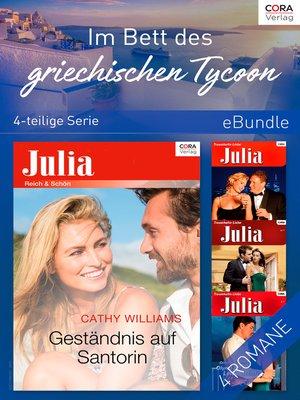 cover image of Im Bett des griechischen Tycoon (4-teilige Serie)