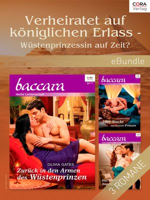 cover image of Verheiratet auf königlichen Erlass--Wüstenprinzessin auf Zeit?
