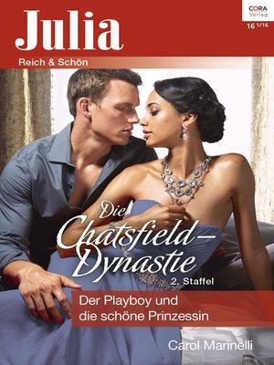 cover image of Der Playboy und die schöne Prinzessin