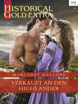 cover image of Verkauft an den Highlander