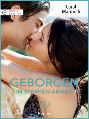 cover image of Geborgen in starken Armen