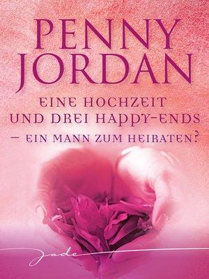 cover image of Ein Mann zum Heiraten?