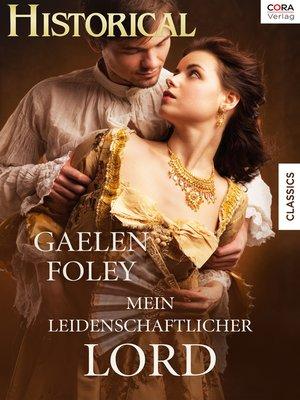 cover image of Mein leidenschaftlicher Lord
