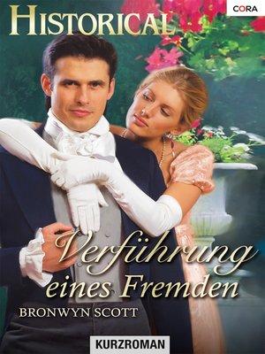 cover image of Verführung eines Fremden