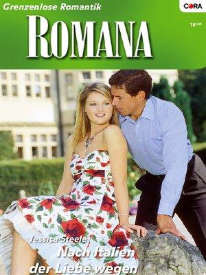 cover image of Nach Italien der Liebe wegen