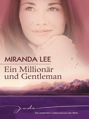 cover image of Ein Millionär und Gentleman