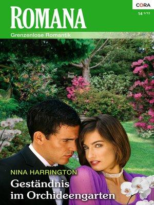 cover image of Geständnis im Orchideengarten
