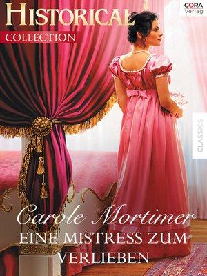 cover image of Eine Mistress zum Verlieben
