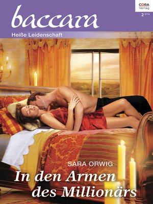 cover image of In den Armen des Millionärs