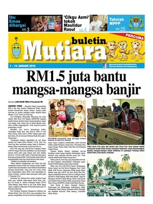 cover image of Buletin Mutiara 1-15 Jan 2015