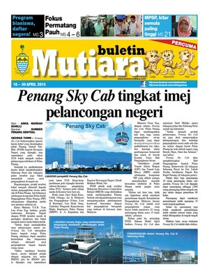 cover image of Buletin Mutiara 16-30 Apr 2015