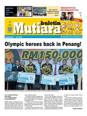 cover image of Buletin Mutiara 1-15 Sept 2016