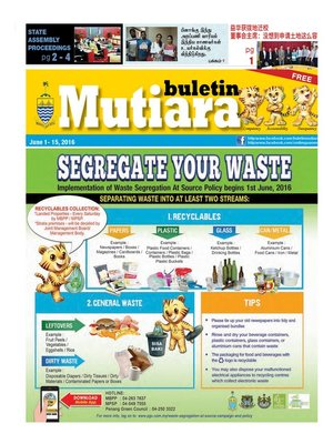 cover image of Buletin Mutiara 1-15 Jun 2016
