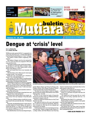 cover image of Buletin Mutiara 16-28 Feb 2016