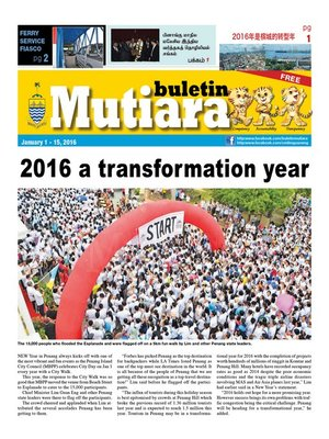 cover image of Buletin Mutiara 1-15 Jan 2016