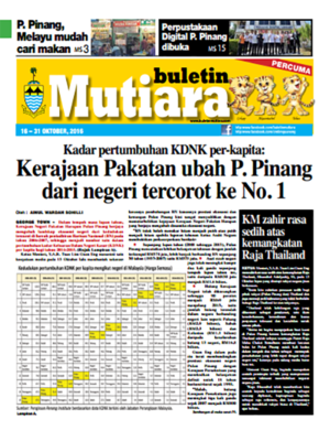 cover image of Buletin Mutiara 16-31 Oct 2016