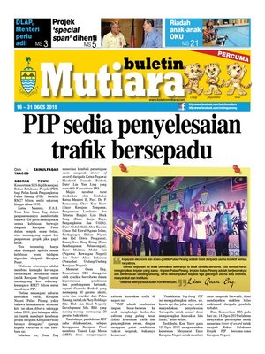 cover image of Buletin Mutiara 16-31 Aug 2015