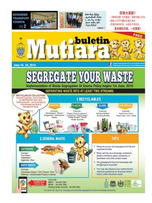 cover image of Buletin Mutiara 16-30 Jun 2016