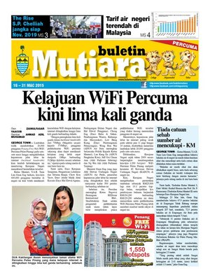 cover image of Buletin Mutiara 16-31 Mac 2015