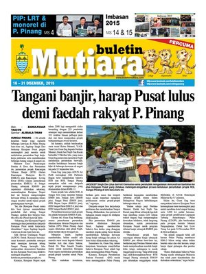 cover image of Buletin Mutiara 16-31 Dec 2015