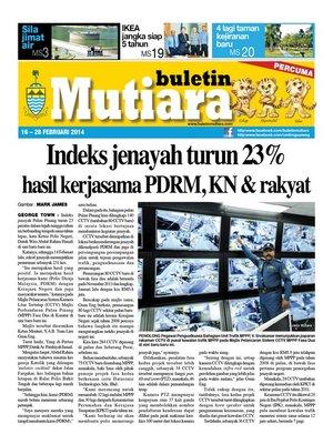 cover image of Buletin Mutiara 16-28 Feb 2014