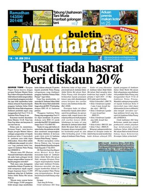 cover image of Buletin Mutiara 16-30 Jun 2014