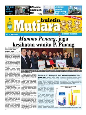 cover image of Buletin Mutiara 1-15 Mac 2015
