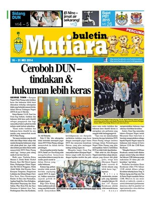 cover image of Buletin Mutiara 16-31 May 2014