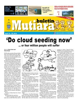 cover image of Buletin Mutiara 16-30 Apr 2016