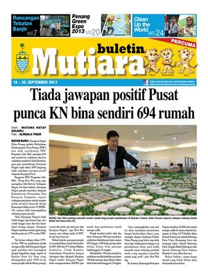 cover image of Buletin Mutiara 16-30 Sept 2013